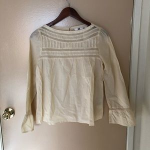 NWT Uniqlo Lace Top